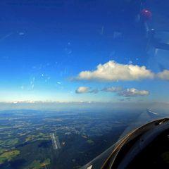 Flugwegposition um 14:01:02: Aufgenommen in der Nähe von Sonnhofen, Österreich in 2108 Meter