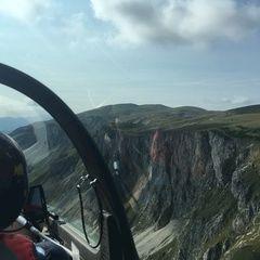 Verortung via Georeferenzierung der Kamera: Aufgenommen in der Nähe von Veitsch, St. Barbara im Mürztal, Österreich in 1800 Meter