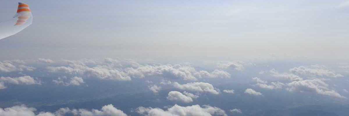 Flugwegposition um 12:22:34: Aufgenommen in der Nähe von Mürzsteg, Österreich in 3595 Meter