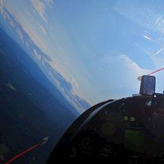 Flugwegposition um 12:48:20: Aufgenommen in der Nähe von Kloster, 8530 Kloster, Österreich in 1923 Meter