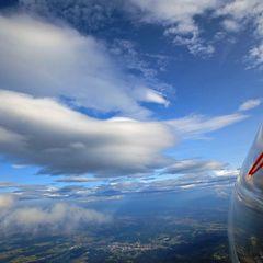 Flugwegposition um 14:13:45: Aufgenommen in der Nähe von Osterwitz, 8530 Osterwitz, Österreich in 2522 Meter