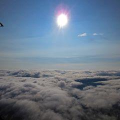 Flugwegposition um 14:56:25: Aufgenommen in der Nähe von Garanas, Österreich in 3416 Meter