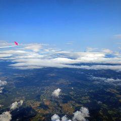 Flugwegposition um 15:17:11: Aufgenommen in der Nähe von Gemeinde Wielfresen, Wielfresen, Österreich in 3551 Meter