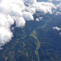 Verortung via Georeferenzierung der Kamera: Aufgenommen in der Nähe von Mürzsteg, Österreich in 4000 Meter
