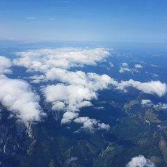 Verortung via Georeferenzierung der Kamera: Aufgenommen in der Nähe von Mürzsteg, Österreich in 3800 Meter