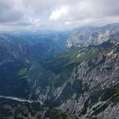 Verortung via Georeferenzierung der Kamera: Aufgenommen in der Nähe von Gemeinde Thörl, Österreich in 2000 Meter