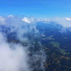 Verortung via Georeferenzierung der Kamera: Aufgenommen in der Nähe von Gemeinde Turnau, Österreich in 2300 Meter