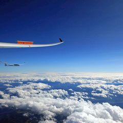 Flugwegposition um 13:23:01: Aufgenommen in der Nähe von Gemeinde Lannach, Österreich in 5374 Meter
