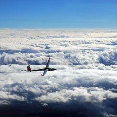Flugwegposition um 14:11:16: Aufgenommen in der Nähe von Schwanberg, 8541 Schwanberg, Österreich in 5226 Meter