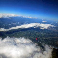 Flugwegposition um 14:34:36: Aufgenommen in der Nähe von Gößnitz, Österreich in 5910 Meter