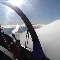 Flugwegposition um 15:38:28: Aufgenommen in der Nähe von Stainz, Österreich in 4438 Meter