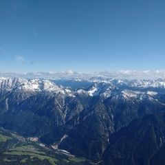 Flugwegposition um 13:21:45: Aufgenommen in der Nähe von Gemeinde Assling, Österreich in 2971 Meter