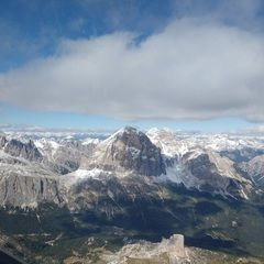 Flugwegposition um 12:11:43: Aufgenommen in der Nähe von 32020 Colle Santa Lucia, Belluno, Italien in 3068 Meter