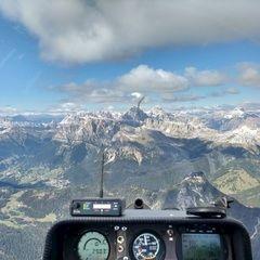 Flugwegposition um 12:06:14: Aufgenommen in der Nähe von 32010 Zoldo Alto, Belluno, Italien in 2851 Meter