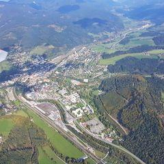 Verortung via Georeferenzierung der Kamera: Aufgenommen in der Nähe von Gemeinde Langenwang, Österreich in 1600 Meter