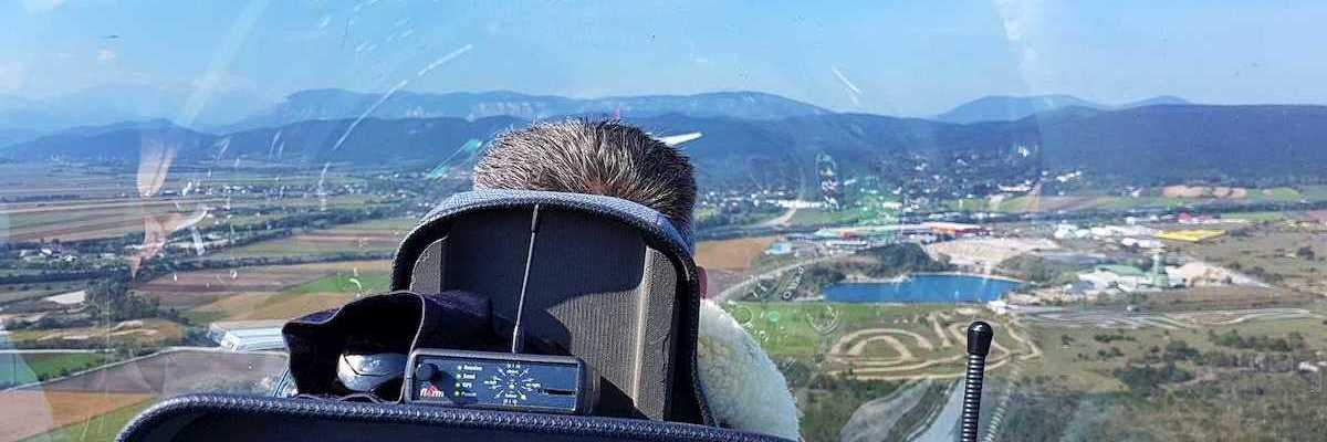 Verortung via Georeferenzierung der Kamera: Aufgenommen in der Nähe von Wiener Neustadt, Österreich in 500 Meter