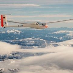 Flugwegposition um 12:05:44: Aufgenommen in der Nähe von Gemeinde Hinterstoder, Hinterstoder, Österreich in 3508 Meter