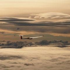 Flugwegposition um 13:07:33: Aufgenommen in der Nähe von Irdning, 8952, Österreich in 4795 Meter