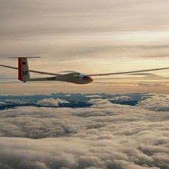 Flugwegposition um 13:30:15: Aufgenommen in der Nähe von Pürgg-Trautenfels, Österreich in 4549 Meter