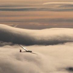 Flugwegposition um 11:38:24: Aufgenommen in der Nähe von Gemeinde Micheldorf in Oberösterreich, Österreich in 1492 Meter