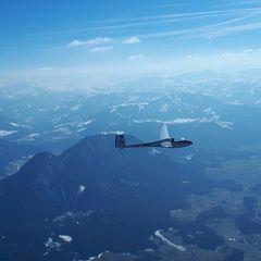 Verortung via Georeferenzierung der Kamera: Aufgenommen in der Nähe von Gemeinde Kufstein, Kufstein, Österreich in 2600 Meter