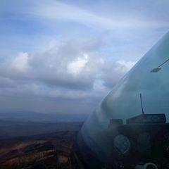 Flugwegposition um 12:36:55: Aufgenommen in der Nähe von Okres Topoľčany, Slowakei in 1093 Meter