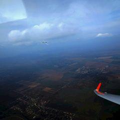 Flugwegposition um 13:49:41: Aufgenommen in der Nähe von Okres Nitra, Slowakei in 1270 Meter