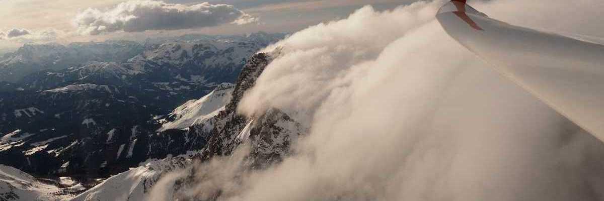 Flugwegposition um 13:39:18: Aufgenommen in der Nähe von Gemeinde Spital am Pyhrn, 4582, Österreich in 2650 Meter
