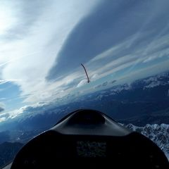 Verortung via Georeferenzierung der Kamera: Aufgenommen in der Nähe von Gemeinde Scheffau am Wilden Kaiser, Österreich in 2900 Meter