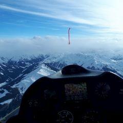 Verortung via Georeferenzierung der Kamera: Aufgenommen in der Nähe von Hopfgarten im Brixental, Österreich in 3100 Meter