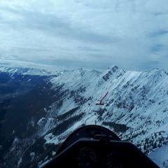 Verortung via Georeferenzierung der Kamera: Aufgenommen in der Nähe von Gemeinde Thaur, Thaur, Österreich in 2300 Meter