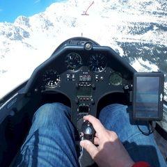 Verortung via Georeferenzierung der Kamera: Aufgenommen in der Nähe von Innsbruck, Österreich in 2200 Meter