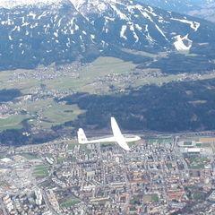Verortung via Georeferenzierung der Kamera: Aufgenommen in der Nähe von Innsbruck, Österreich in 2100 Meter