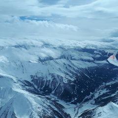 Verortung via Georeferenzierung der Kamera: Aufgenommen in der Nähe von Gemeinde Schmirn, 6154, Österreich in 4400 Meter