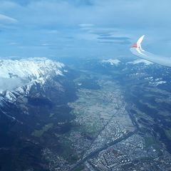 Verortung via Georeferenzierung der Kamera: Aufgenommen in der Nähe von Innsbruck, Österreich in 3600 Meter