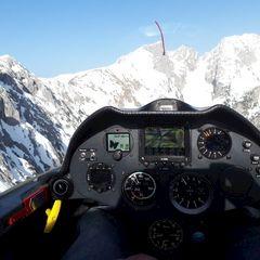 Verortung via Georeferenzierung der Kamera: Aufgenommen in der Nähe von Gemeinde Scheffau am Wilden Kaiser, Österreich in 2000 Meter