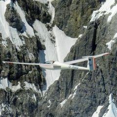 Flugwegposition um 11:36:06: Aufgenommen in der Nähe von Gemeinde Ellmau, Ellmau, Österreich in 2089 Meter