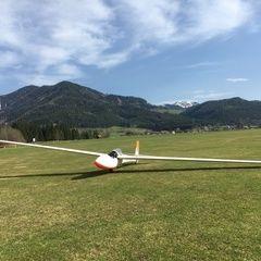 Verortung via Georeferenzierung der Kamera: Aufgenommen in der Nähe von Gemeinde Turnau, Österreich in 800 Meter