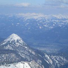 Flugwegposition um 14:25:35: Aufgenommen in der Nähe von Weng im Gesäuse, 8913, Österreich in 2610 Meter