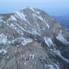 Flugwegposition um 16:37:21: Aufgenommen in der Nähe von Veitsch, St. Barbara im Mürztal, Österreich in 2198 Meter