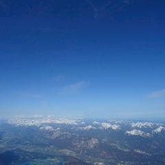 Flugwegposition um 05:15:35: Aufgenommen in der Nähe von Gemeinde St. Martin am Tennengebirge, Österreich in 2712 Meter