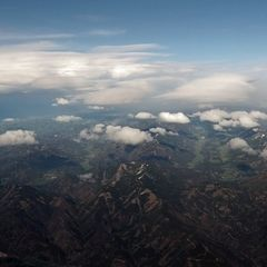 Flugwegposition um 13:02:43: Aufgenommen in der Nähe von Gemeinde Maria Alm am Steinernen Meer, 5761, Österreich in 2878 Meter