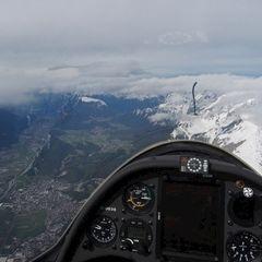 Flugwegposition um 06:04:15: Aufgenommen in der Nähe von Gemeinde Untertauern, Österreich in 4041 Meter