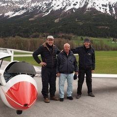 Flugwegposition um 15:03:06: Aufgenommen in der Nähe von Gemeinde Rosenau am Hengstpaß, Österreich in 3988 Meter