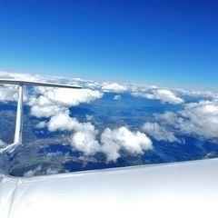 Verortung via Georeferenzierung der Kamera: Aufgenommen in der Nähe von Gremeinde Grafenstein, 9131, Österreich in 4300 Meter