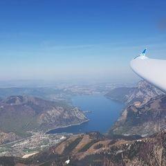 Verortung via Georeferenzierung der Kamera: Aufgenommen in der Nähe von Gemeinde Ebensee, 4802 Ebensee, Österreich in 2300 Meter