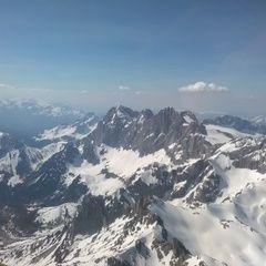 Flugwegposition um 13:39:48: Aufgenommen in der Nähe von Gemeinde Ramsau am Dachstein, 8972, Österreich in 3219 Meter