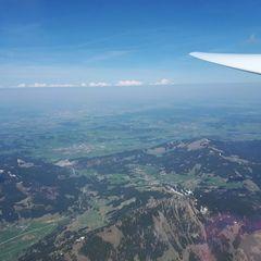 Verortung via Georeferenzierung der Kamera: Aufgenommen in der Nähe von Gemeinde Schattwald, 6677, Österreich in 2900 Meter