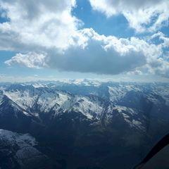 Verortung via Georeferenzierung der Kamera: Aufgenommen in der Nähe von Gemeinde Uttendorf, Österreich in 3200 Meter