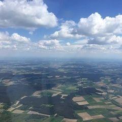 Verortung via Georeferenzierung der Kamera: Aufgenommen in der Nähe von Kelheim, Deutschland in 1800 Meter